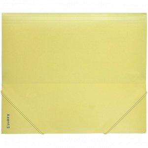 Папка на резинках Axent Pastelini 1514-26-A, А5, желтая