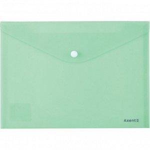 Папка на кнопке Axent Pastelini 1522-18-A, А5, мятная