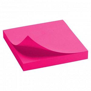Блок бумаги с липким слоем Delta D3414-13, 75x75 мм, 100 листов, розовый