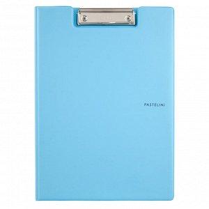 Папка-планшет с металлическим клипом Axent Pastelini 2514-22-A, А4, голубой