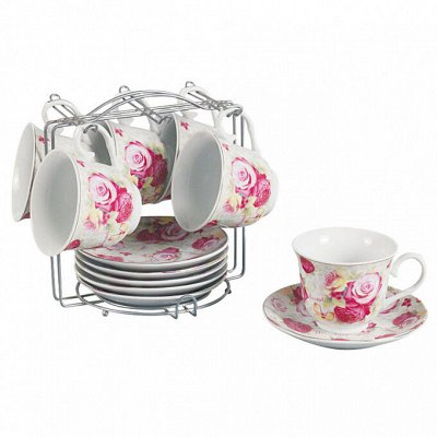 ✔ Дельта- Дискаунтер ✔ Товары для дома   — Наборы чайные — Сервизы
