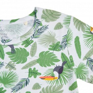 Пижама для мальчика, тропический принт
