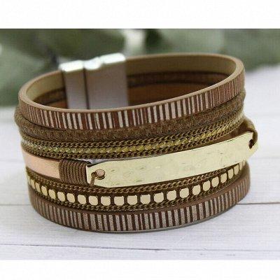 Бижутерия Ve*Vett стильная и яркая.😍 — Браслеты кожа, браслет - часы — Браслеты
