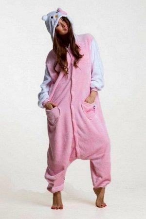 Кигуруми Такой наряд замечательно подойдет на праздник Хэллоуин, или стане повседневной домашней пижамкой. Теплый,мягкий, приятный на ощупь рост 155