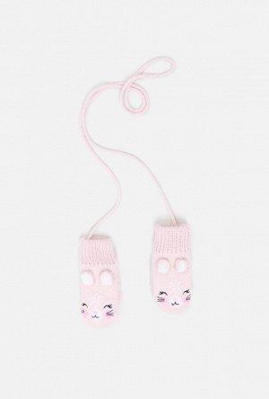 Варежки детские Angora светло-розовый