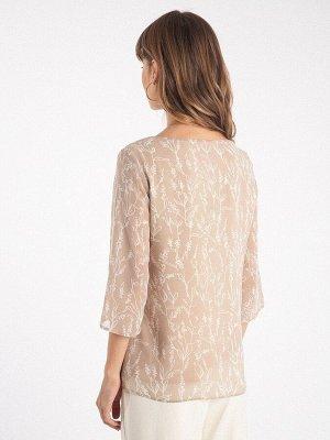 Блузка с принтом B2550/brent