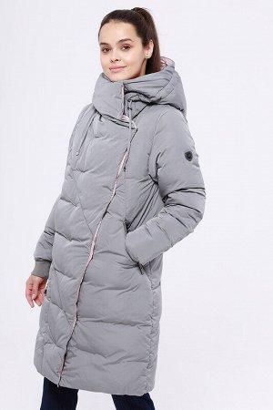 Пальто Состав: 68% ПЭ, 32% нейлон;  Сезон: Осень, Зима;  Цвет: Серый/розовый;  ;  С подкладом: С подкладом (состав- 100% п/э);  Утеплитель: Утеплитель- Синтепух Модное зимнее пальто прямого силуэта.