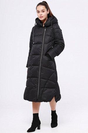 Пальто Состав: 78% ПЭ, 22% нейлон.  Цвет: Черный.   Подробнее: Длинное теплое зимнее пальто от российского производителя D'imma Fashion Studio, подчеркивающее Вашу индивидуальность и создающее идеальн