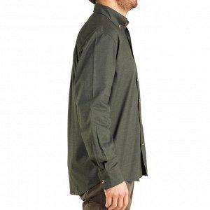 Рубашка для охоты с длинными рукавами 100 SOLOGNAC