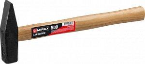 MIRAX 500 молоток слесарный с деревянной рукояткой