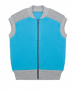 Голубой жилет для мальчика 76805-МО15