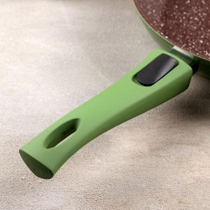 Сковорода кованая Avocado, d=20 см, съёмная ручка, индукция