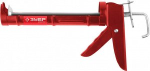 ЗУБР полукорпусной пистолет для герметика Мастер