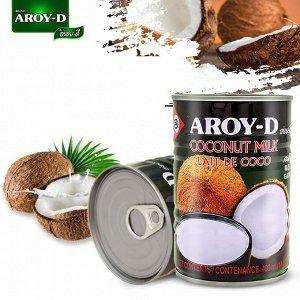 Кокосовое молоко AROY-D , 400мл, ж\б