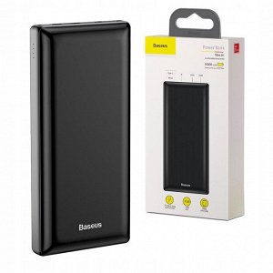 Портативное зарядное устройство Baseus Power Bank 30.000 mAh Mini JA X30
