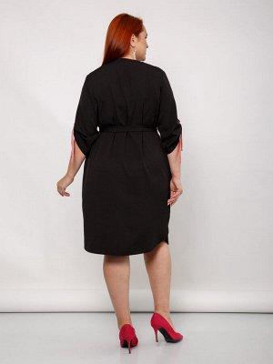 Платье 0129-1 черный