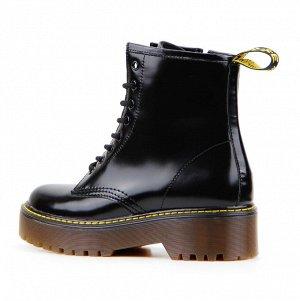 Ботинки демисезон черный