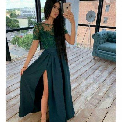 Комфортный трикотаж, джинсы по доступным ценам! — Длинные платья — Длинные платья