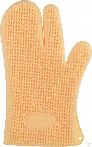 Рукавица термостойкая силиконовая для кухни 27,5*17 см  цвет в ассортименте  MARMITON /10, 16067
