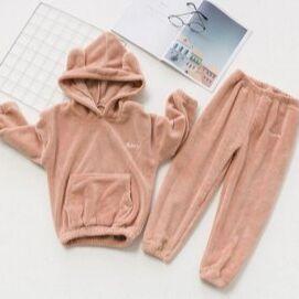 Детям! Тёплые штаны, пижамы, кофточки, футболки — Тёплые флисовые костюмы — Одежда для дома