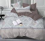Комплект из сатина 2 спальный с Европростыней БЕЗ комбинирования