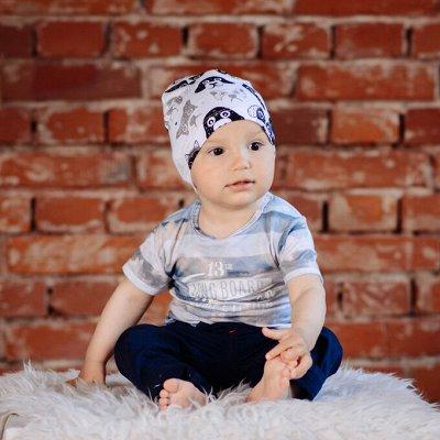 YOURYOUR-4.  Шапки и шарфы для всей семьи — Весна/лето шапки для мальчиков — Шапки