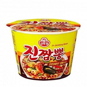 Лапша со вкусом морепродуктов (острая) Jin Jjambbong Ramen 115 г