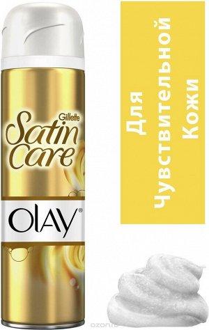 GILLETTE Satin Care Гель для бритья Olay Vanilla Dream 200мл