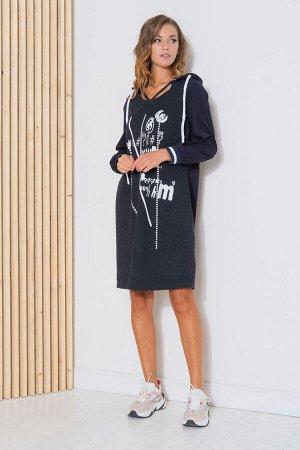 Платье Платье Fantazia Mod 3767  Состав: Платье: Вискоза-95%; Спандекс-5%; Платье: ПЭ-100%; Сезон: Осень-Зима Рост: 164  Спортивный стиль в одежде является одним из самых комфортных, удобных и практи