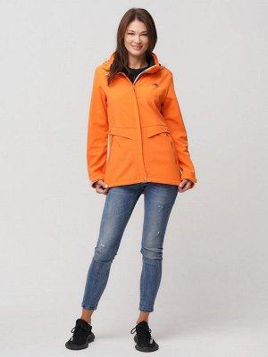 Ветровка MTFORCE женская оранжевого цвета 2032O