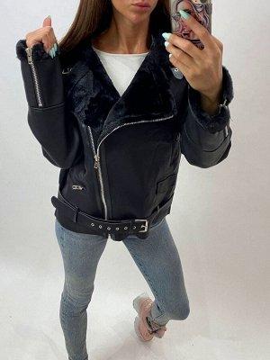 Куртка Трендовая женская куртка-косуха Отличное качество Мягкая эко-кожа