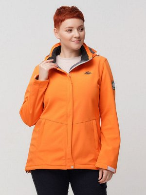 Ветровка MTFORCE bigsize оранжевого цвета 2034-1O