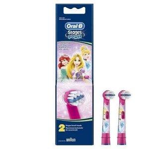 Насадки для детей Braun Oral-B Stages Kids Принцессы (2 шт)
