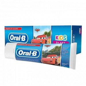 Зубная паста ORAL-B Kids для детей Легкий вкус ТАЧКИ 75 мл