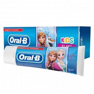 Зубная паста ORAL-B Kids для детей Легкий вкус ХОЛОДНОЕ СЕРДЦЕ 75 мл
