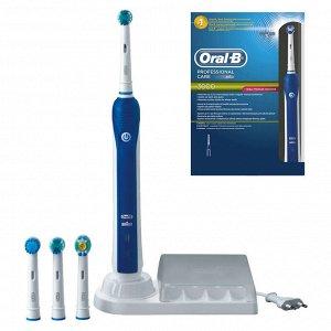 Электрическая зубная щетка Oral-B Professional Care 3000 D20(5 насадок)