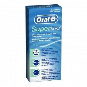 Нить межзубная Oral-B Super Floss