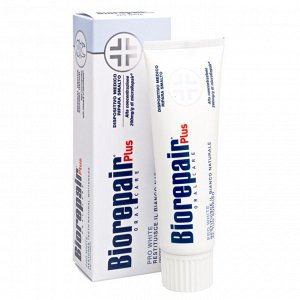 Зубная паста Biorepair Pro White Rissia Plus сохраняющая белизну, 75 мл
