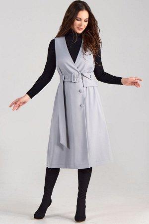 Сарафан Teffi style 1522 серый