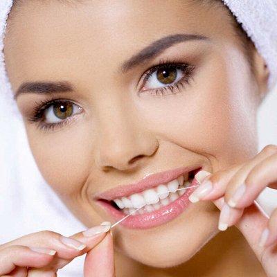 Уход за полостью рта с любимыми марками! 😍 Отбеливание зубов — Зубные нити, отбеливающие полоски — Спреи и нити