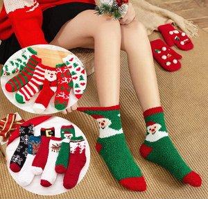 Плюшевые носочки, Рождественские олени