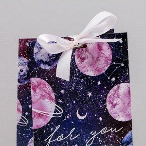 Пакет подарочный космический
