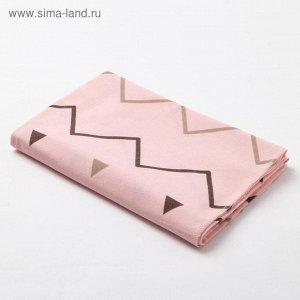 Пелёнка подарочная  «Геометрия» в упаковке
