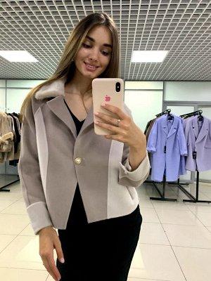 "Куртка кашемир, цвет ""беж"""