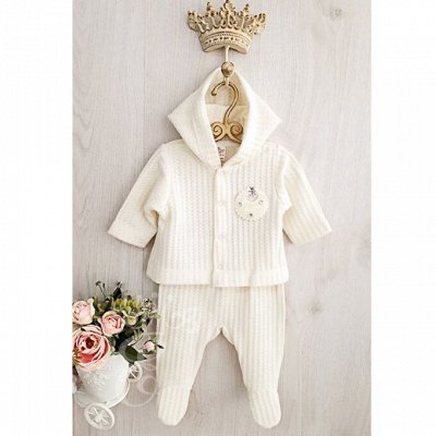 БэбиШик-40. Утепляем малышей. Новинки! — Комплекты одежды для новорожденных — Костюмы и комбинезоны