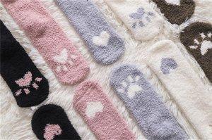 Женские плюшевые носочки, в ассортименте