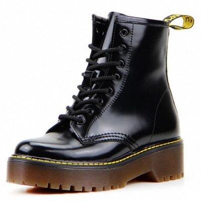 ~ED`ART - Стильная, комфортная обувь. Натуральная кожа. — Ботинки демисезон — Кожаные