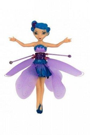 Оригинальная летающая фея Flying Fairy с подсветкой и музыкой, цвет голубой