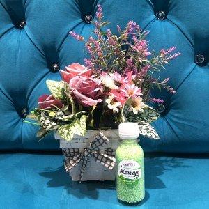Жемчуг для ванны Sakura с ароматом Зеленый чай с мятой