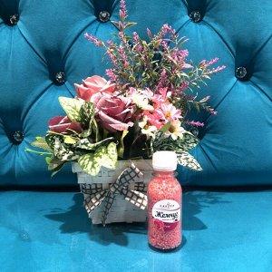 Жемчуг для ванны Sakura с ароматом Роза